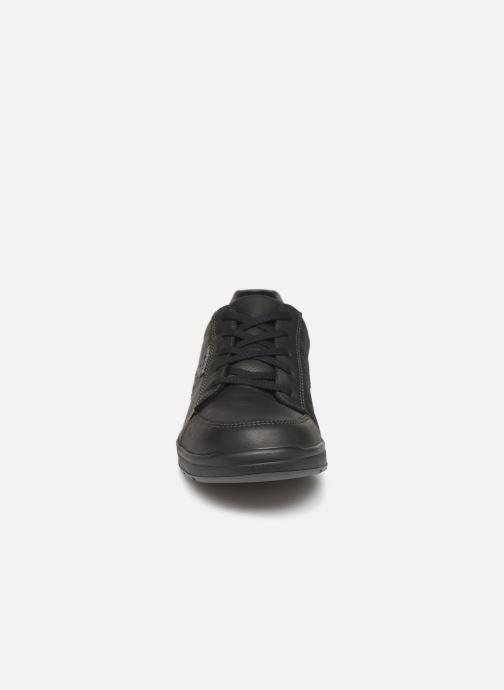 Sneaker Mephisto Vincente schwarz schuhe getragen