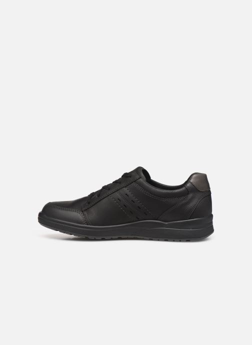 Sneaker Mephisto Vincente schwarz ansicht von vorne