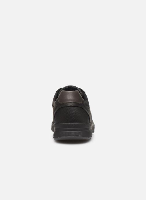 Sneaker Mephisto Vincente schwarz ansicht von rechts
