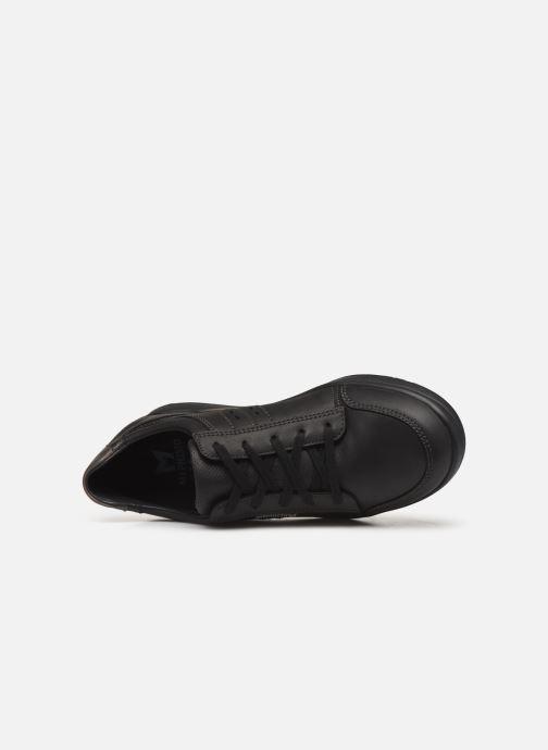 Sneaker Mephisto Vincente schwarz ansicht von links