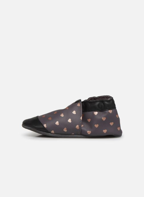Chaussons Robeez First Love Gris vue face