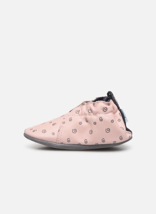 Chaussons Robeez Justine Rose vue face