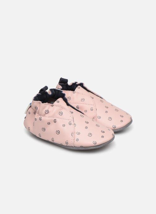 Hjemmesko Robeez Justine Pink detaljeret billede af skoene