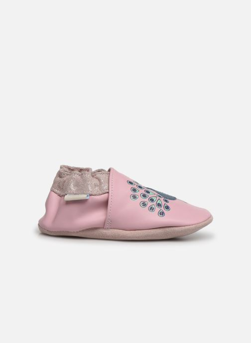 Chaussons Robeez Lovely Peacock Rose vue derrière
