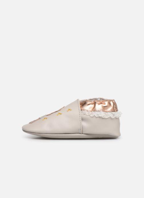 Chaussons Robeez Ballet Cat Gris vue face
