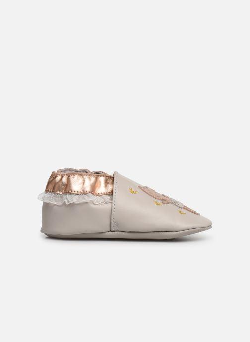 Chaussons Robeez Ballet Cat Gris vue derrière