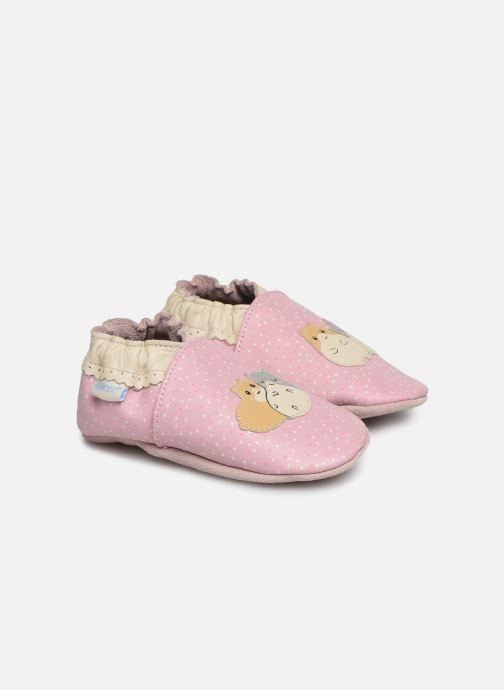Pantofole Robeez Hamster Family Rosa vedi dettaglio/paio