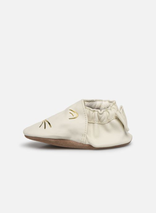 Chaussons Robeez Goldy Cat Beige vue face