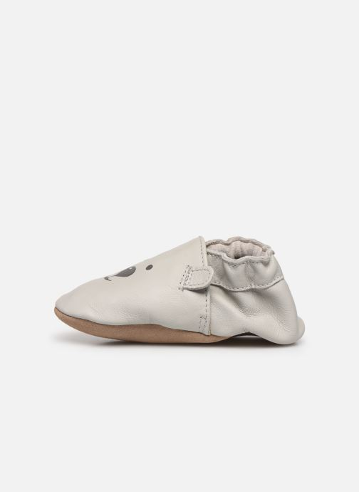 Chaussons Robeez Sweety Bear Gris vue face
