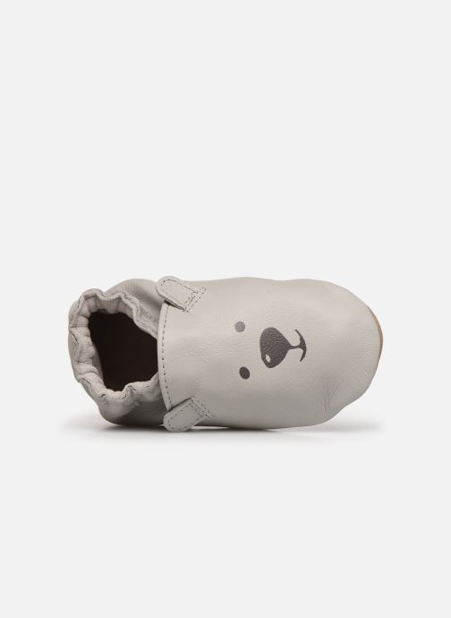 Chaussons Robeez Sweety Bear Gris vue gauche