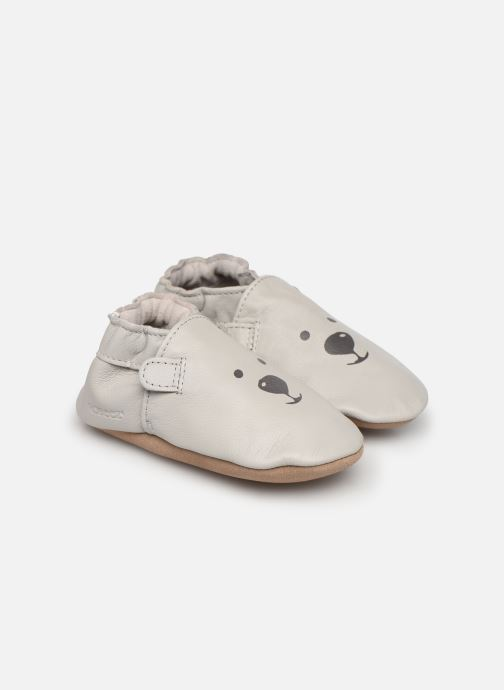 Chaussons Robeez Sweety Bear Gris vue détail/paire