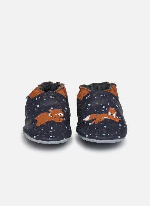 Chaussons Robeez Game Run Bleu vue portées chaussures