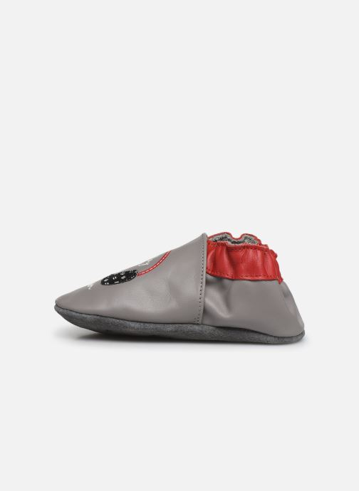 Chaussons Robeez Music Play Gris vue face