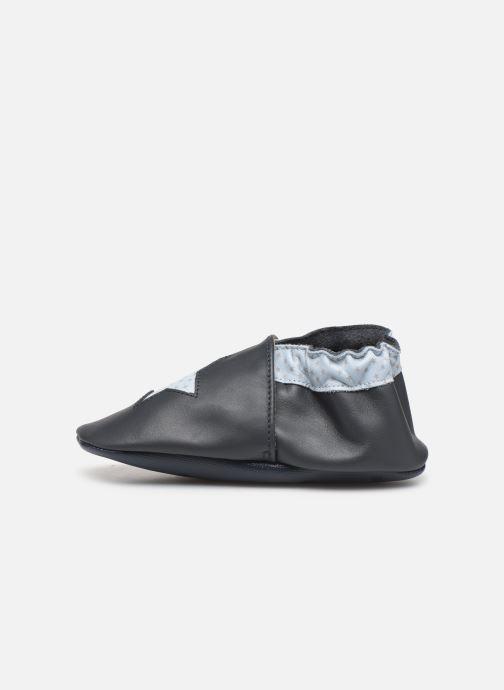 Pantofole Robeez Kindstar Azzurro immagine frontale