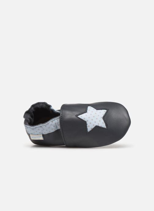 Pantofole Robeez Kindstar Azzurro immagine sinistra
