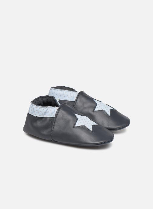 Pantofole Robeez Kindstar Azzurro vedi dettaglio/paio