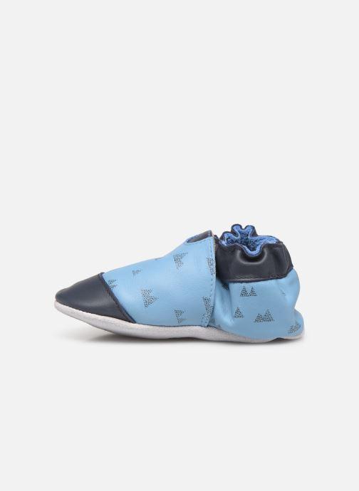 Pantofole Robeez Mountains Azzurro immagine frontale