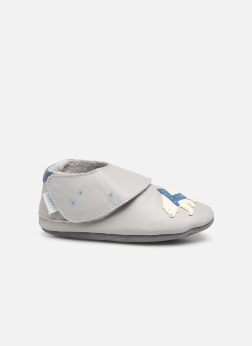 Pantofole Robeez Polar Bear Grigio immagine posteriore