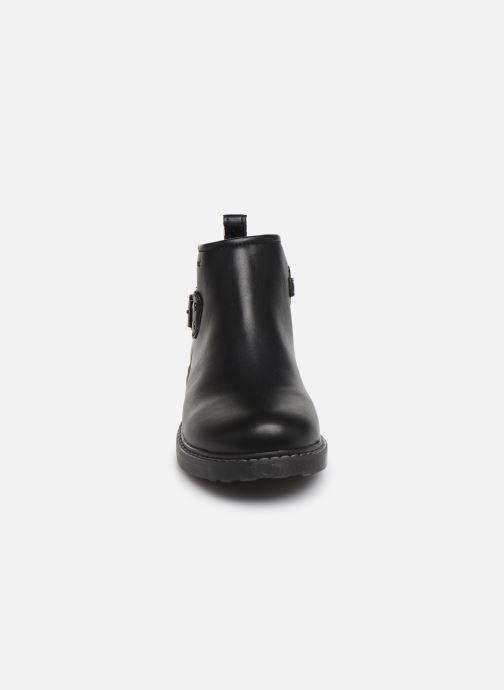 Bottines et boots Geox J Eclair Girl J949QD Noir vue portées chaussures