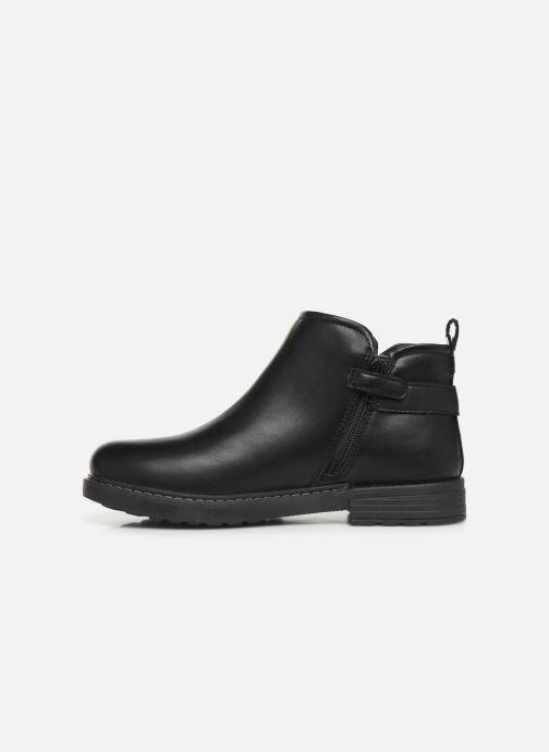 Bottines et boots Geox J Eclair Girl J949QD Noir vue face