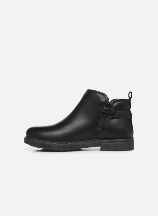 Boots en enkellaarsjes Geox J Eclair Girl J949QD Zwart voorkant