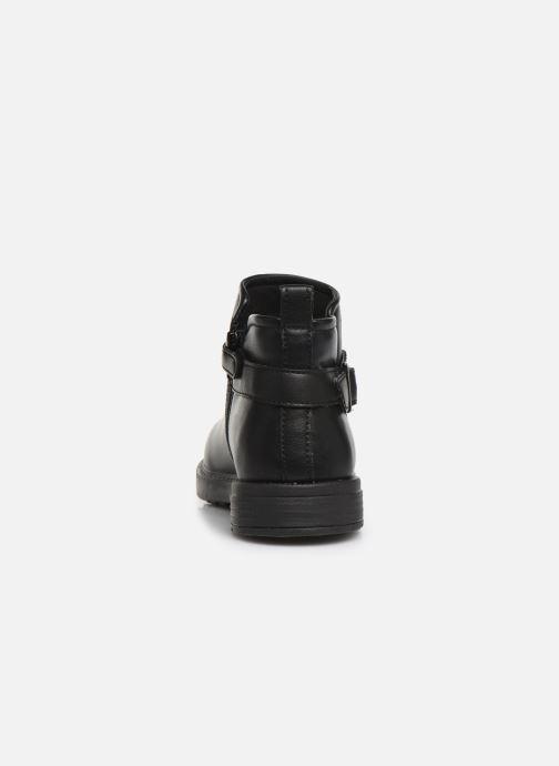 Boots en enkellaarsjes Geox J Eclair Girl J949QD Zwart rechts