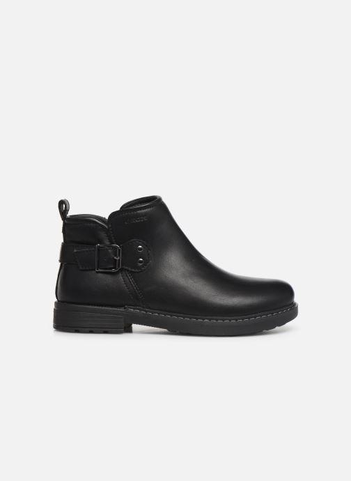 Boots en enkellaarsjes Geox J Eclair Girl J949QD Zwart achterkant