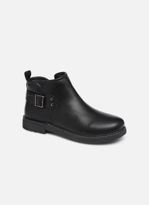 Boots en enkellaarsjes Geox J Eclair Girl J949QD Zwart detail