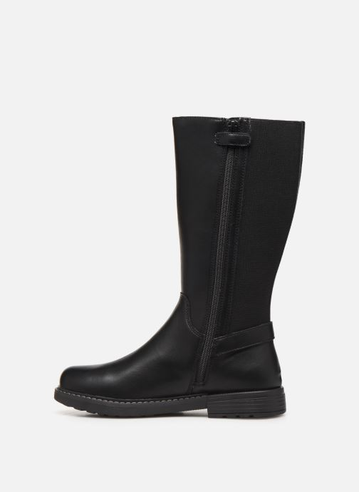 Boots & wellies Geox J Eclair Girl J949QF Black front view