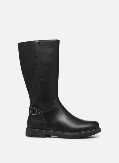 Boots & wellies Geox J Eclair Girl J949QF Black back view