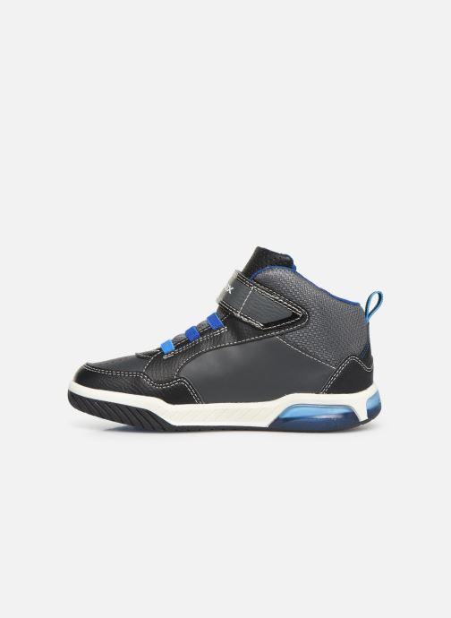 Sneaker Geox J Inek Boy J949CE blau ansicht von vorne