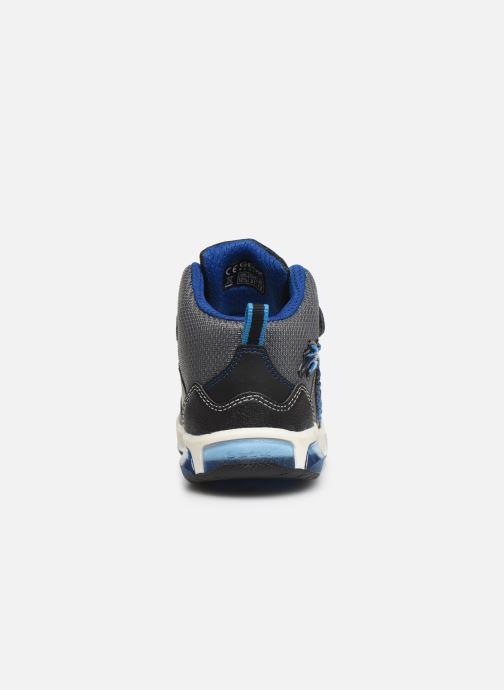 Sneaker Geox J Inek Boy J949CE blau ansicht von rechts