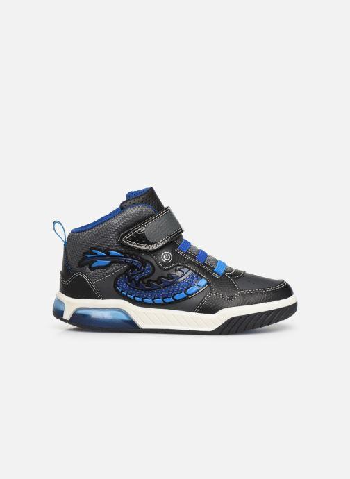Sneakers Geox J Inek Boy J949CE Blå se bagfra