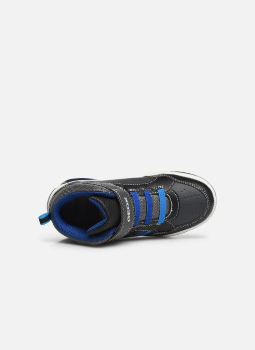 Sneakers Geox J Inek Boy J949CE Blauw links