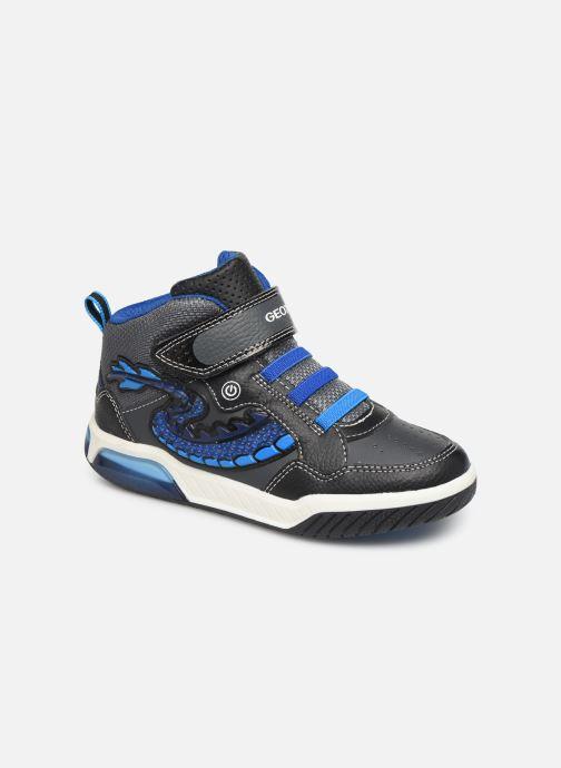 Sneakers Geox J Inek Boy J949CE Blauw detail