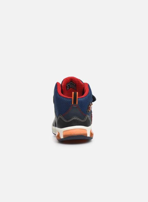 Sneakers Geox J Inek Boy J949CE Azzurro immagine destra