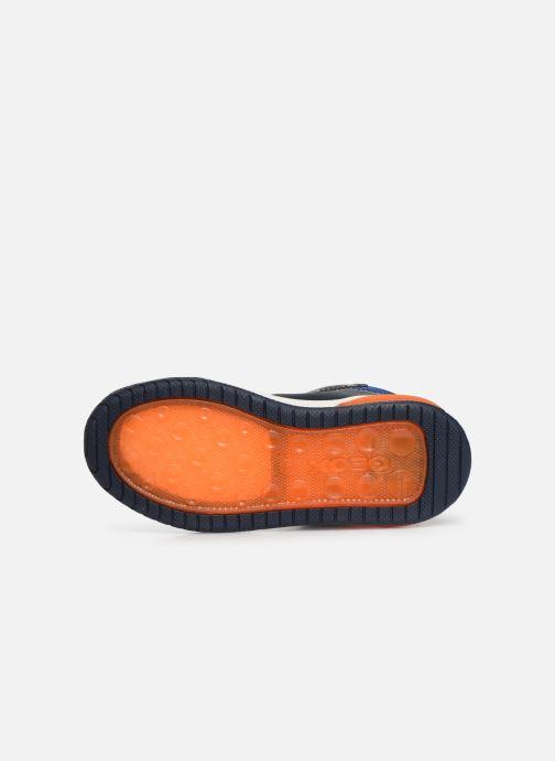 Sneakers Geox J Inek Boy J949CE Azzurro immagine dall'alto