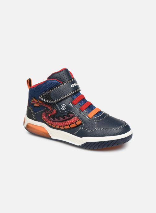 Sneakers Geox J Inek Boy J949CE Azzurro vedi dettaglio/paio