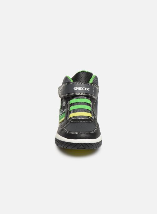 Sneakers Geox J Inek Boy J949CE Zwart model