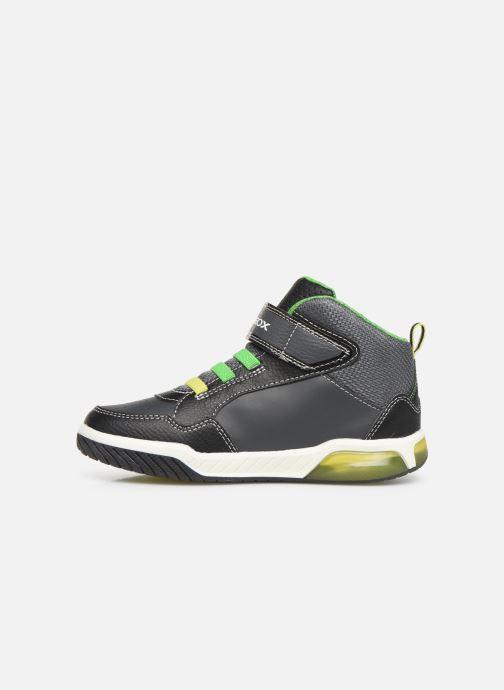 Sneakers Geox J Inek Boy J949CE Zwart voorkant