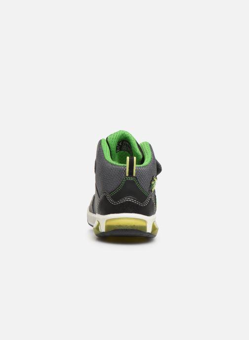 Sneakers Geox J Inek Boy J949CE Zwart rechts