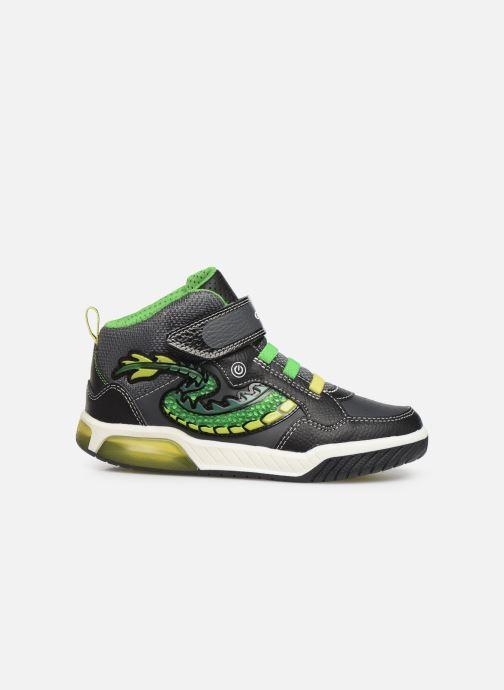Sneakers Geox J Inek Boy J949CE Zwart achterkant