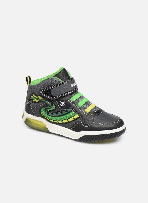 Sneakers Geox J Inek Boy J949CE Zwart detail