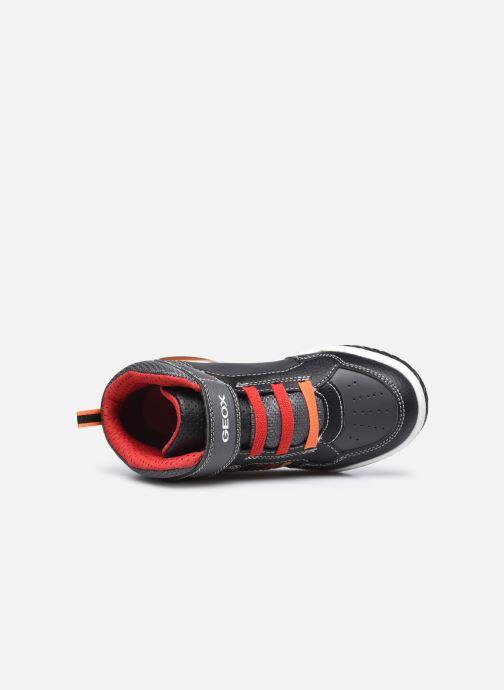 Sneaker Geox J Inek Boy J949CE schwarz ansicht von links