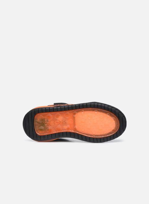 Sneaker Geox J Inek Boy J949CE schwarz ansicht von oben