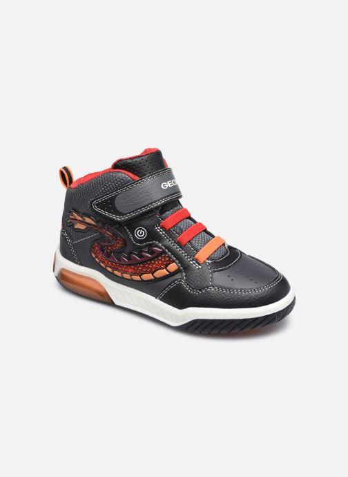 Sneaker Geox J Inek Boy J949CE schwarz detaillierte ansicht/modell