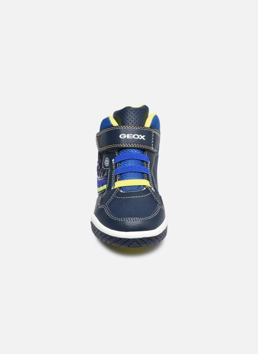 Sneakers Geox J Inek Boy J949CE Blauw model