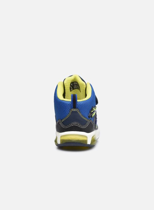 Baskets Geox J Inek Boy J949CE Bleu vue droite