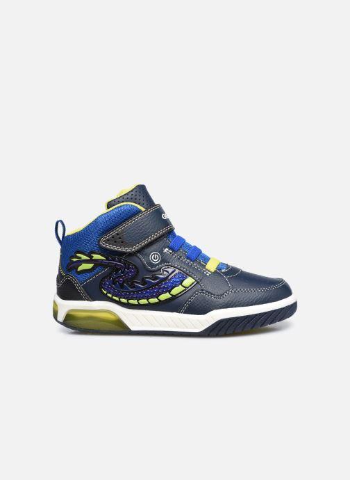 Baskets Geox J Inek Boy J949CE Bleu vue derrière