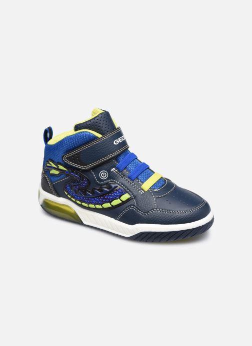 Baskets Geox J Inek Boy J949CE Bleu vue détail/paire